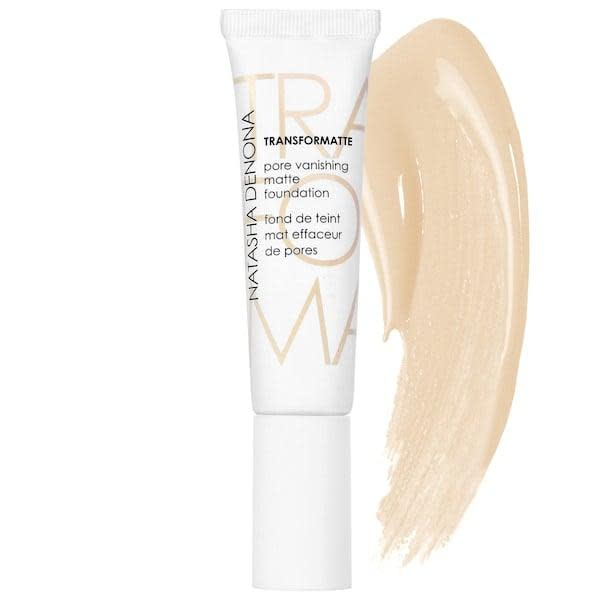 <p>There are shades of this <span>Natasha Denona Transformatte Pore Vanishing Matte Foundation</span> ($23, originally $45) with yellow, red, warm, or neutral undertones. All 35 colors add hydration while smoothing skin at the same time, too.</p>