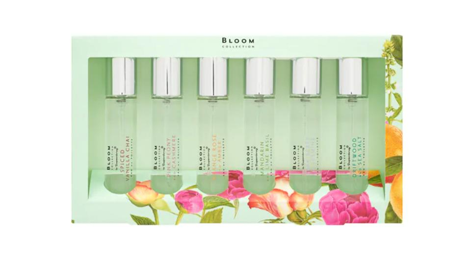 Superdrug Bloom Layering Fragrance Gift Set x6