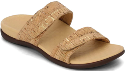 These slides support your feet — and look gorgeous. (Photo: Amazon)