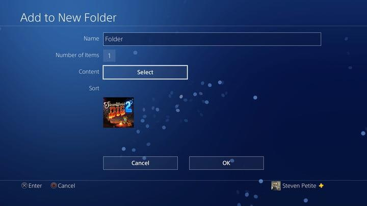 how to organize ps4 game library 20180110124754