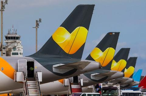 Thomas Cook Airlines is currently for sale - Credit: pa
