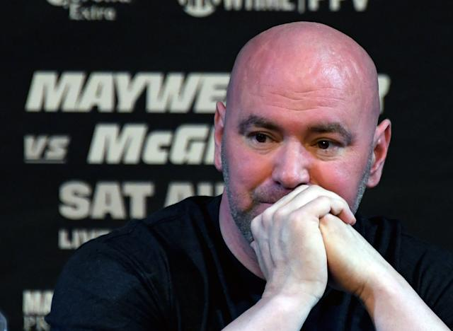 Dana White wants nothing to do with country singer Jason Aldean. (Getty Images)