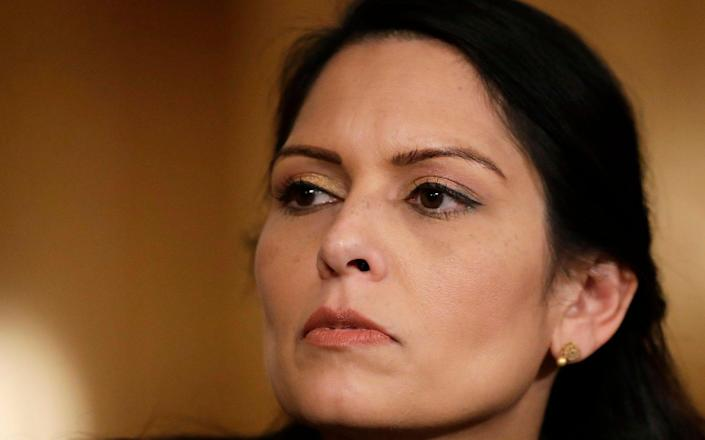 Home Secretary Priti Patel is trying to bring in changes to the law - Matt Dunham/AP