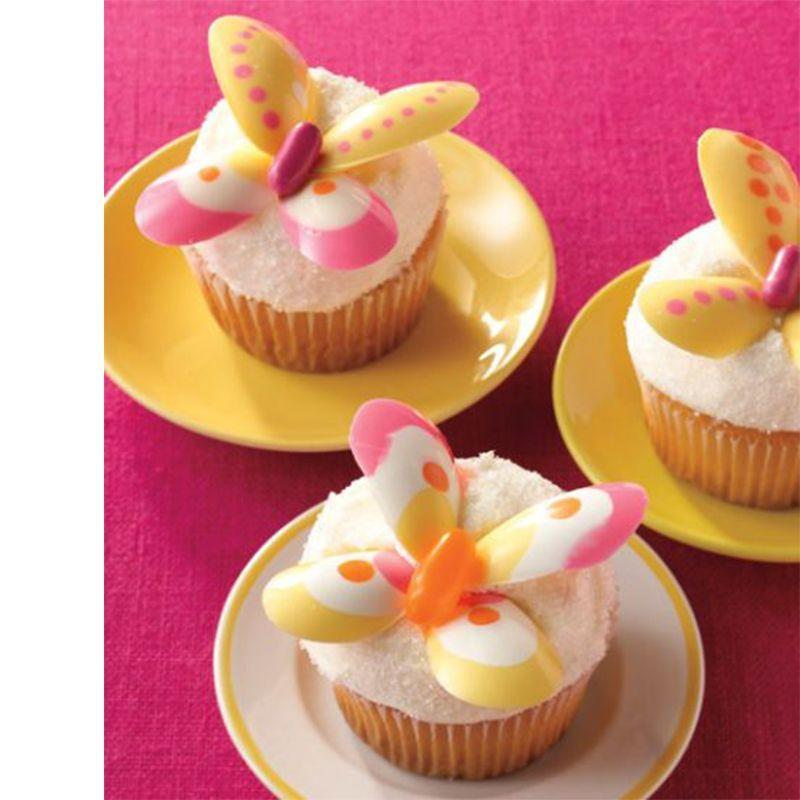 """<p>These cupcakes come out so gorgeous we almost don't want to eat them. The lemon flavor is perfect for springtime, and you can buy pre-made white chocolate candy wings to ease the amount of work.</p><p><em><a href=""""https://www.womansday.com/food-recipes/food-drinks/recipes/a11266/lemon-butterfly-cakes-recipe/"""" rel=""""nofollow noopener"""" target=""""_blank"""" data-ylk=""""slk:Get the recipe for Lemon Butterfly Cakes."""" class=""""link rapid-noclick-resp"""">Get the recipe for Lemon Butterfly Cakes. </a></em></p>"""