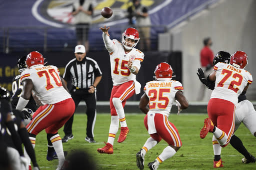 Ravens again find misery at hands of Mahomes and Chiefs