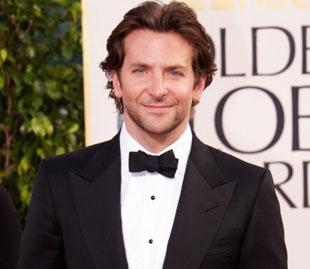 BEVERLY HILLS, CA - JANUARY 13:  Actor Bradley Cooper arrives at the 70th Annual Golden Globe Awards held at The Beverly Hilton Hotel on January 13, 2013 in Beverly Hills, California.  (Photo by Jeff Vespa/WireImage)