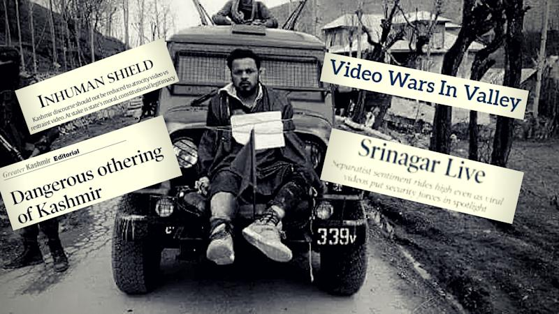 Othering of Kashmir: How Media Reacted to the 'Human Shield' Video