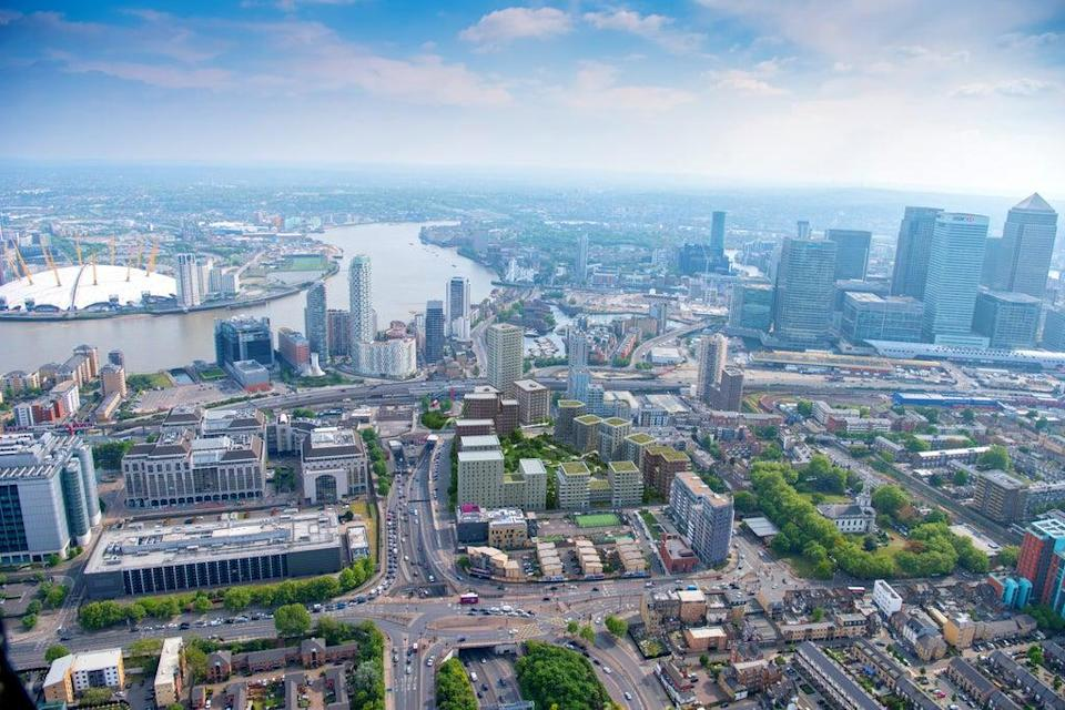 West Ham, Barking and Thames Gateway are all east London areas seeing bursts of regeneration  (jasonhawkes.com)