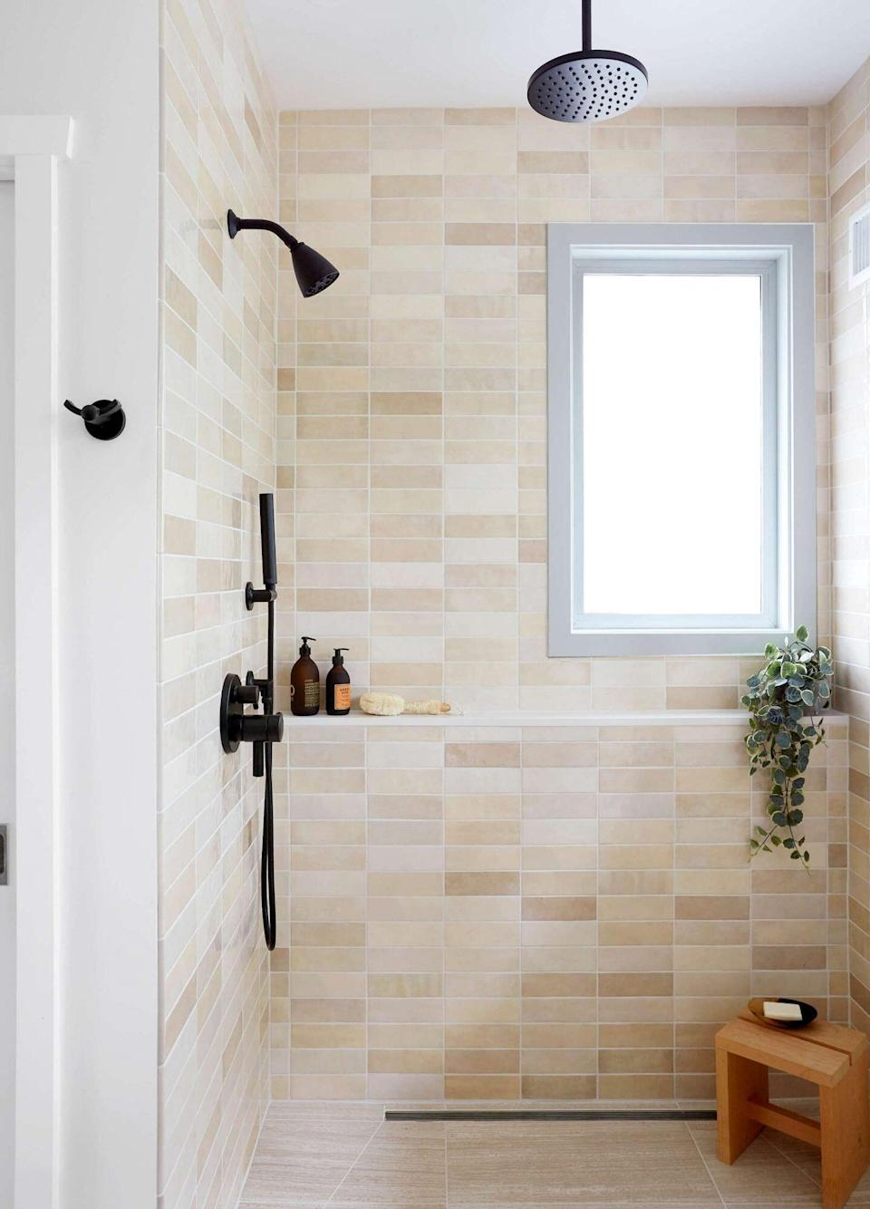 Space of the Week, Tiled Shower