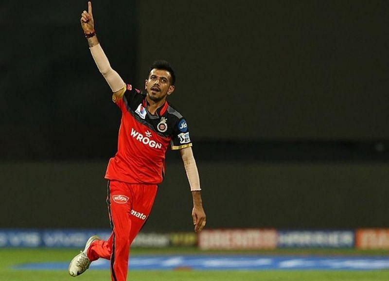 Chahal took two consecutive wickets in the 16th over to decisively turn the match in RCB's favour (Image Credits: Sportzwiki)
