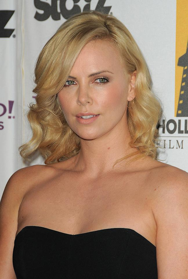Charlize Theron at the 13th Annual Hollywood Awards Gala held at the Beverly Hilton Hotel - 10/26/2009