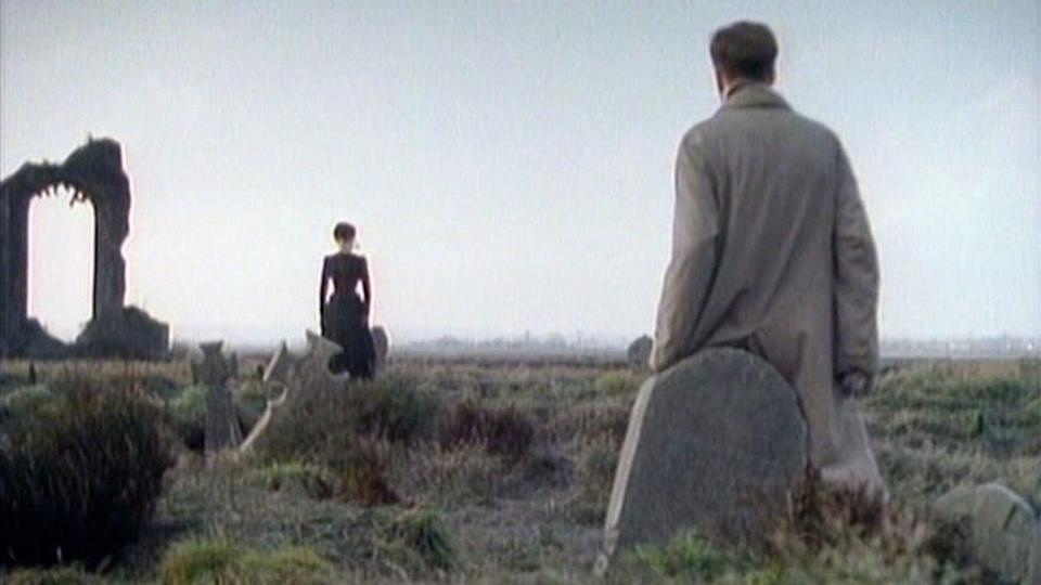 <p><strong>IMDb says:</strong> When a friendless old widow dies in the seaside town of Crythin, a young solicitor is sent by his firm to settle the estate. The lawyer finds the townspeople reluctant to talk about or go near the woman's dreary home and no one will explain or even acknowledge the menacing woman in black he keeps seeing. Ignoring the towns-people's cryptic warnings, he goes to the house where he discovers its horrible history and becomes ensnared in its even more horrible legacy.</p><p><strong>We say: </strong>Big thanks to my sister for making me watch this when I was WAY too young. I've never been the same since...</p>