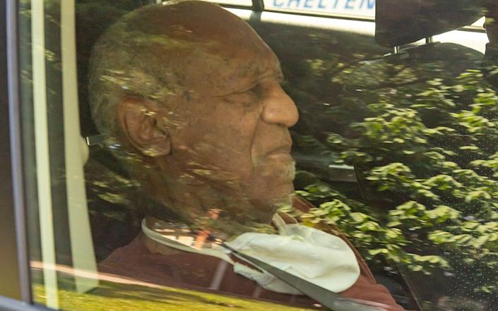 Bill Cosby arrives home after being released from jail - Gilbert Carrasquillo / SplashNews.com