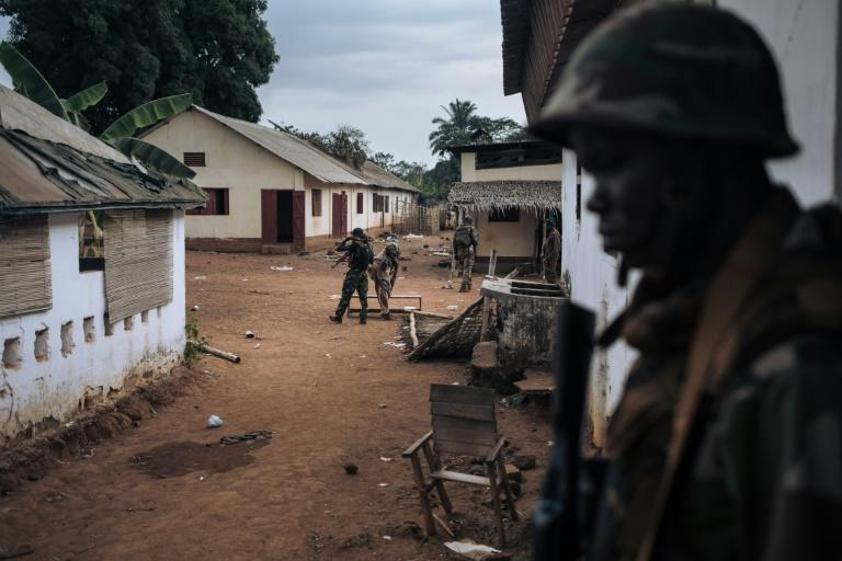 CAR troops have been gradually reconquering the country's territory from rebel groups