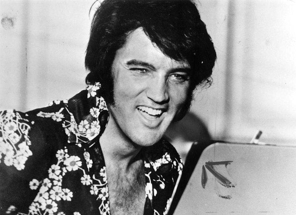 """<p>Although it has been more than 40 years since Presley graced an audience, his legacy lives on. Five years after his death, Presley's Memphis home, Graceland, was opened to the public. The estate now boasts visitors of 500,000 or more a year. In 2019, Forbes called him as one of the top-earning dead celebrities and estimated his estate, to which his daughter is the sole heir, with a <a href=""""https://www.forbes.com/sites/zackomalleygreenburg/2019/10/30/the-top-earning-dead-celebrities-of--2019/#79ee32a34e5e"""" rel=""""nofollow noopener"""" target=""""_blank"""" data-ylk=""""slk:value of $39 million"""" class=""""link rapid-noclick-resp"""">value of $39 million</a>. </p>"""