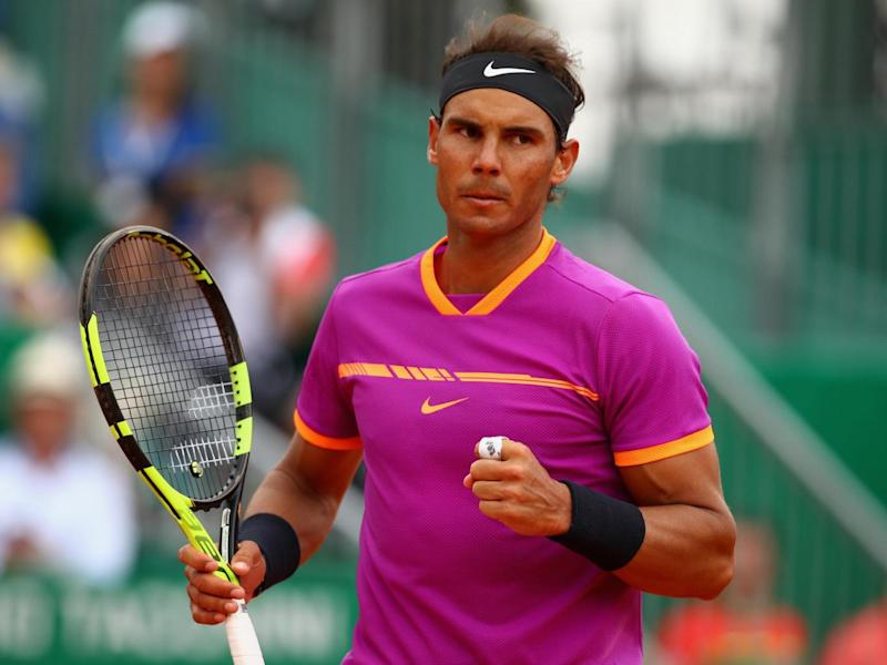 Nadal whistled through the first set without dropping a game (Getty)
