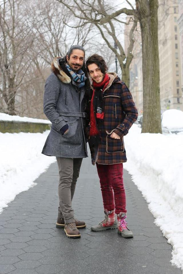 Haghjoo and Nia were featured on Humans of New York.