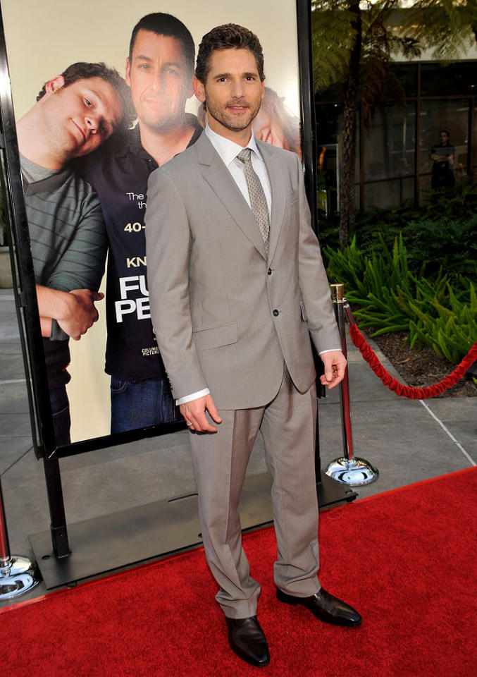 """<a href=""""http://movies.yahoo.com/movie/contributor/1800380395"""">Eric Bana</a> at the Los Angeles premiere of <a href=""""http://movies.yahoo.com/movie/1810041785/info"""">Funny People</a> - 07/20/2009"""