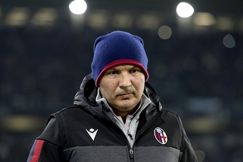 TURIN, ITALY - OCTOBER 19: Bologna head coach Sinisa Mihajlovic during the Serie A match between Juventus and Bologna FC at Allianz Stadium on October 19, 2019 in Turin, Italy. (Photo by Filippo Alfero - Juventus FC/Juventus FC via Getty Images)