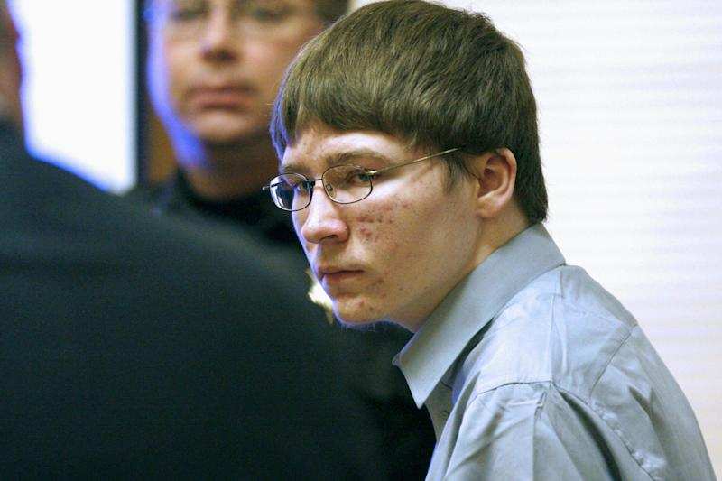 Brendan Dassey appears in court at the Manitowoc County Courthouse in Manitowoc, Wisconsin, on 16 April, 2007: Dan Powers/The Post-Crescent, Pool, File