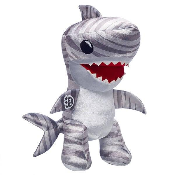 Build-A-Bear's New Shark Week Collection Will Have Your Baby Sharks Flippering Out