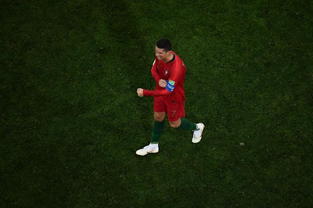 Spain coach Fernando Hierro would not trade any of his players for Cristiano Ronaldo