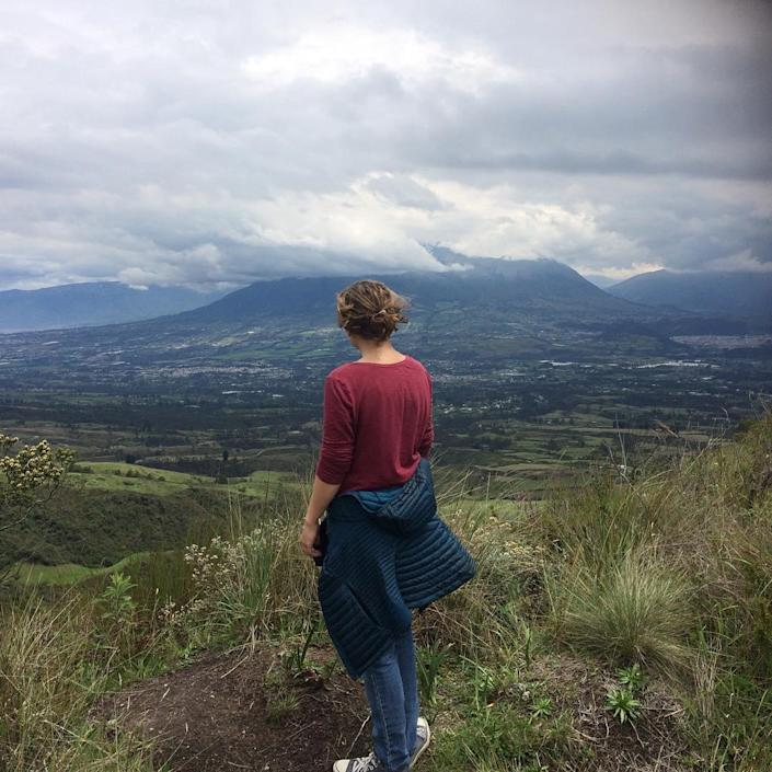 Emma Lee Tremblay during her time serving with the Peace Corps in Ecuador.