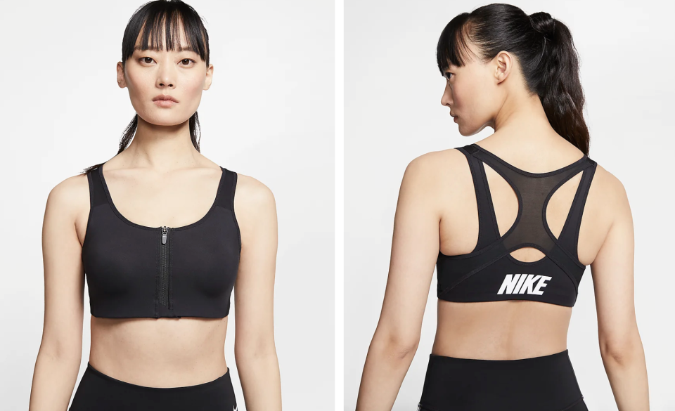 Women's High-Support Sports Bra, S$49.90 (was S$89). PHOTO: Nike