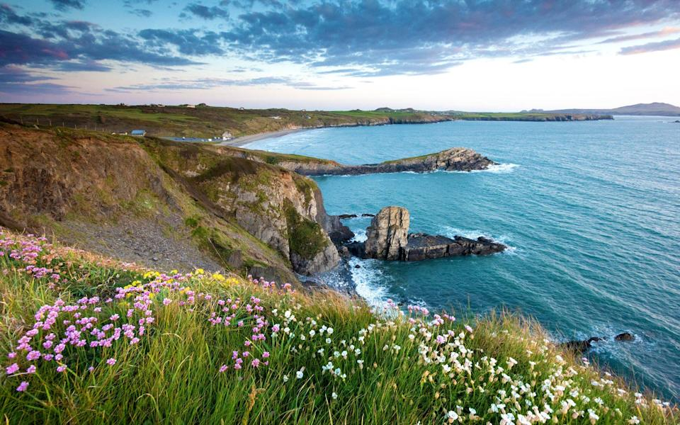 Pembrokeshire receives just a fraction of the crowds of Cornwall - Getty