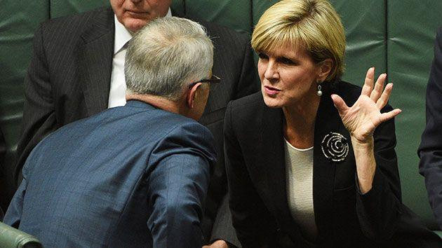 There is no suggestion Ms Bishop broke any rules when she represented Malcolm Turnbull at a charity event in WA. Photo: 7 News