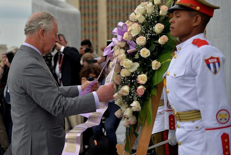 Prince Charles | YAMIL LAGE/AFP/Getty Images