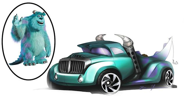 Sully (Image: Mattel/Hot Wheels Design Team)
