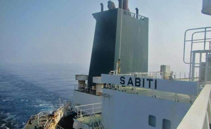 The Iranian tanker Sibiti was hit by two separate explosions according to the National Iranian Tanker Company but the state-owned firm has denied reports the attack originated from Saudi soil (AFP Photo/HO)