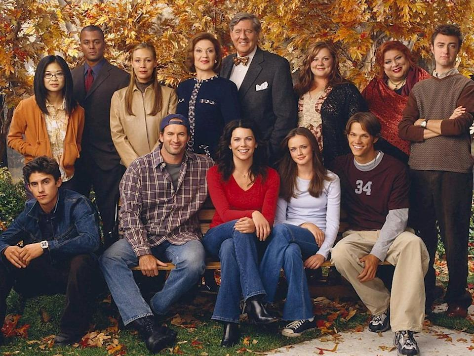 The cast of 'Gilmore Girls' (Credit: WB)