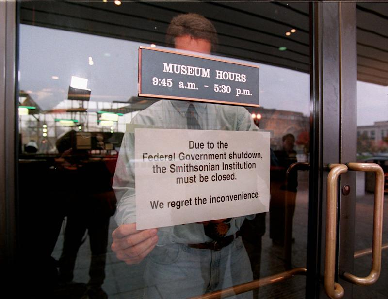 Closed for business? Government shutdown history