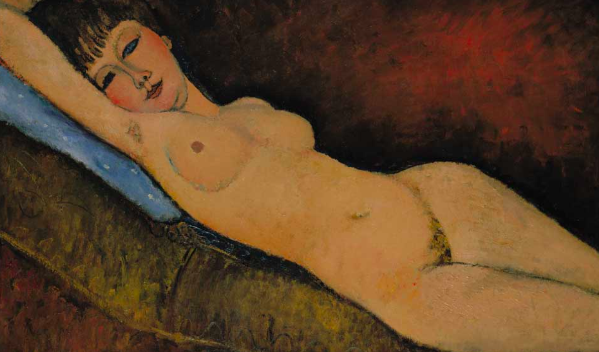 <p>9. Nu couché – Amedeo Modigliani (1917). Sold for: £138.8m. Auction house Christie's of New York sold the painting to Chinese businessman Liu Yiqian in 2015. (Pic: Wiki Commons) </p>
