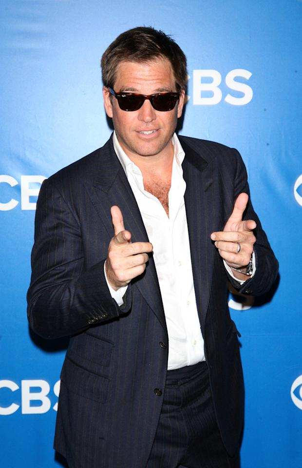 "Michael Weatherly (""NCIS"") attends CBS's 2012 Upfront Presentation on May 16, 2012 in New York City."
