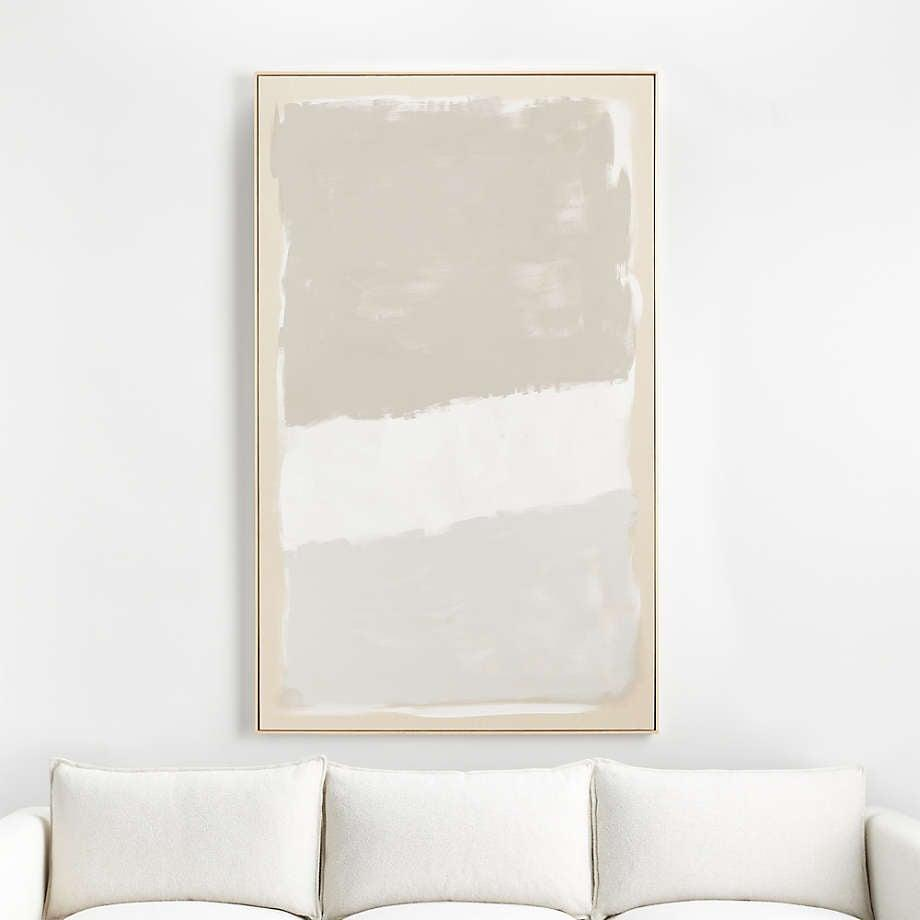 <p> The <span>Crate and Barrel Neutral Modern Moment Wall Art</span> ($999) is a great choice for introducing statement-making art pieces to your space that won't look to overbearing. The neutral colors and light boarder will blend effortlessly into any room.</p>