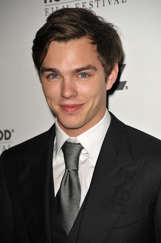 """<a href=""""http://movies.yahoo.com/movie/contributor/1800294837"""">Nicholas Hoult</a> at the 13th Annual Hollywood Awards Gala held at the Beverly Hilton Hotel - 10/26/2009"""