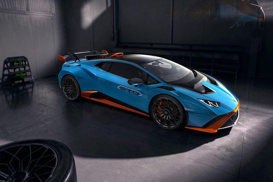 <p>If you weren't aware of Lamborghini's extraordinary racing know-how, this new Huracan spin-off will help jog the memory. It's basically a road-legal version of the Huracan Super Trofeo Evo that won the Daytona three times, so while its engineers have taken road-driving into consideration, the track will be its spiritual home. Extensive aerodynamics work and chassis tweaking, alongside load-lightening across the board (even the floor-mats have carbon weave) produce a car that will be as stunning to take on a lap as it is just to look at.</p>