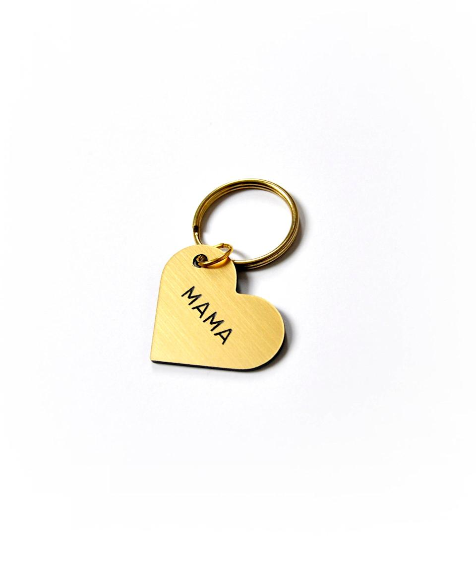 Swell Made Co. Mama Keychain, $16.