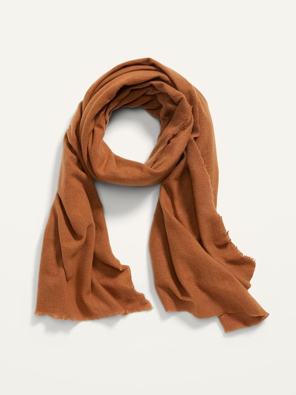 <p>Keep your neck protected with this <span>Flannel Scarf</span> ($16, originally $18).</p>