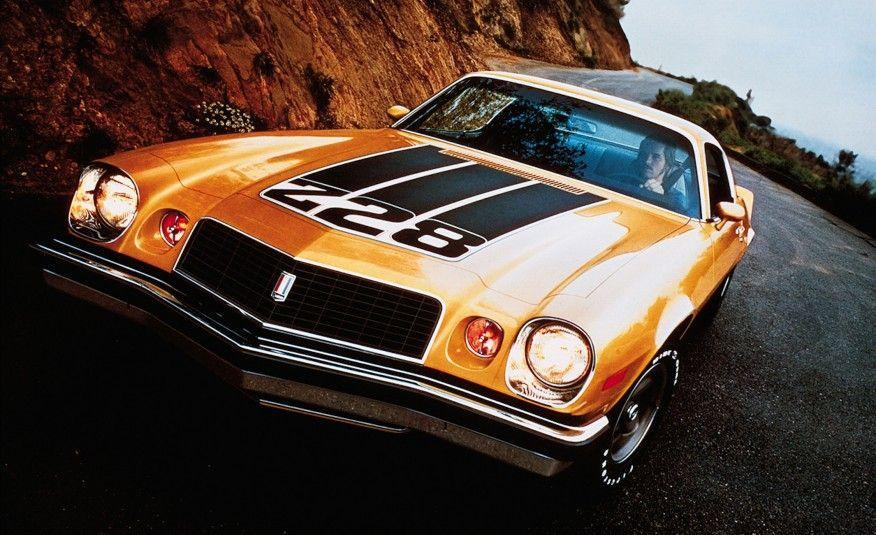 <p>The Z/28 got bold new graphics for '74, but the car itself was becoming fat, lazy, and underpowered. The 350 V-8 under the hood was rated at only 245 horsepower. Yawn. Maybe the Z/28 needed to be gone. And by 1975, it was!</p>