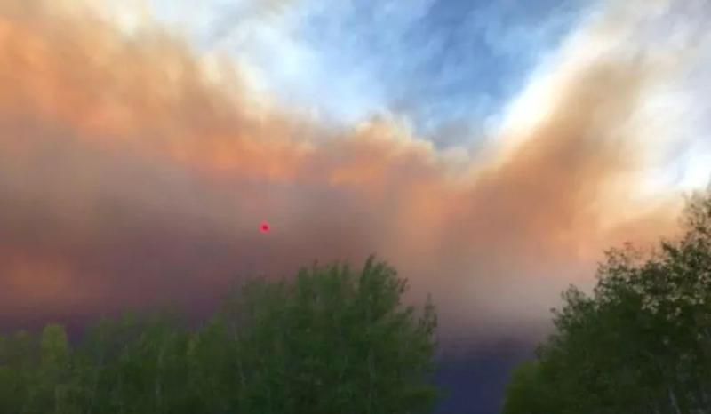 A fire ban is in effect for most of northern Alberta. (Deb Stecyk/CBC News)