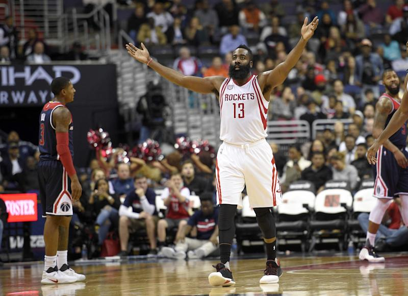 b34f1e6a256 James Harden s putting up numbers we haven t seen since Michael Jordan