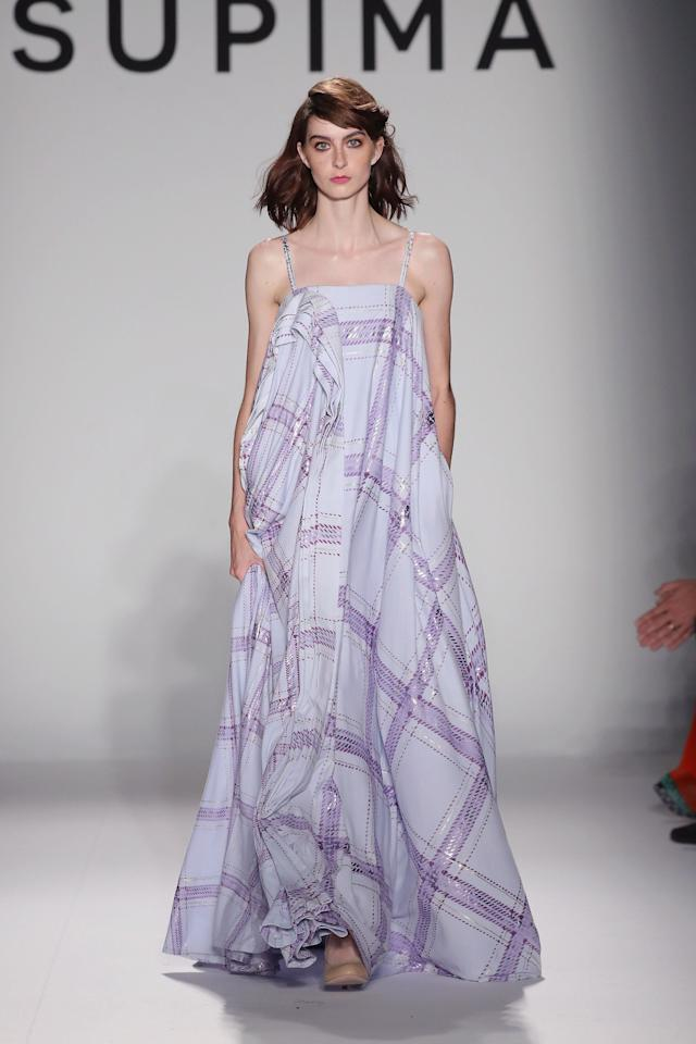 During the Supima show at New York Fashion Week on Sept. 7.