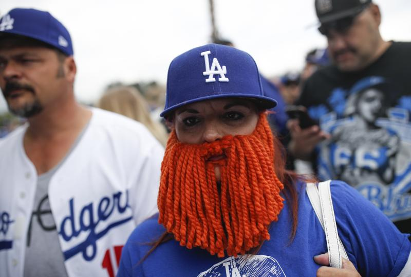 When it's Game 7 of the World Series, fans need to bring all their good-luck charms to the game. (AP)