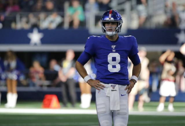 Just what do the Giants want Daniel Jones to do with the mess they made?