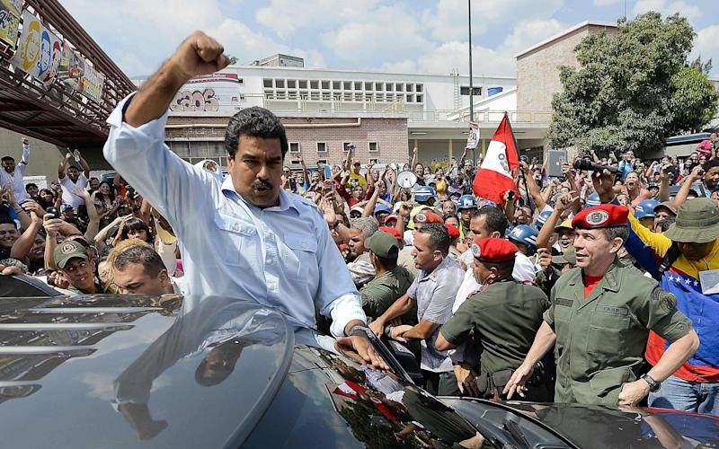 Venezuelan president, Nicolas Maduro. The country is officially in default, credit agencies say - AFP