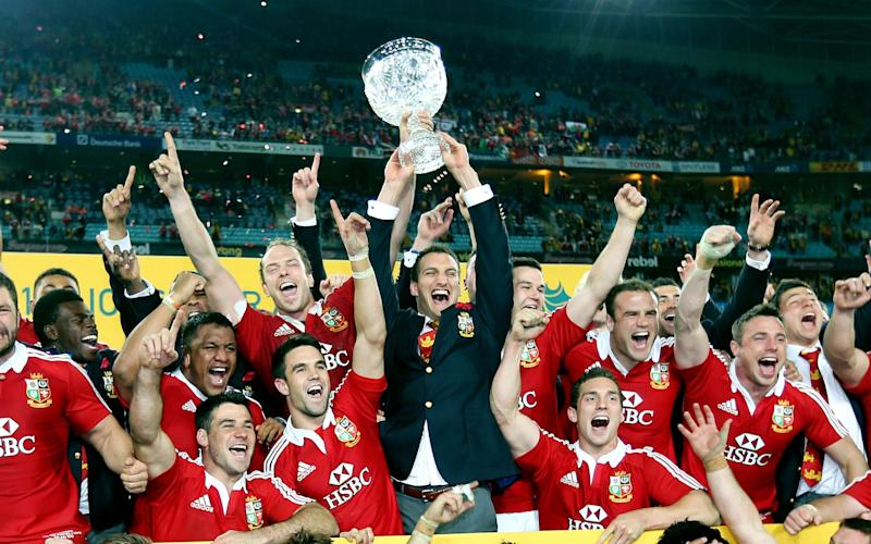 The British and Irish Lions are bidding to complete back-to-back series victories - PA Wire
